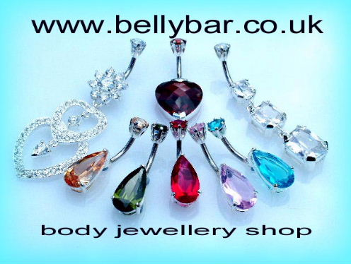 for beautiful bellybars & navel rings with silver designs visit bellybar.co.uk